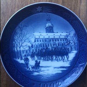 Vintage Royal Copenhagen Christmas plates